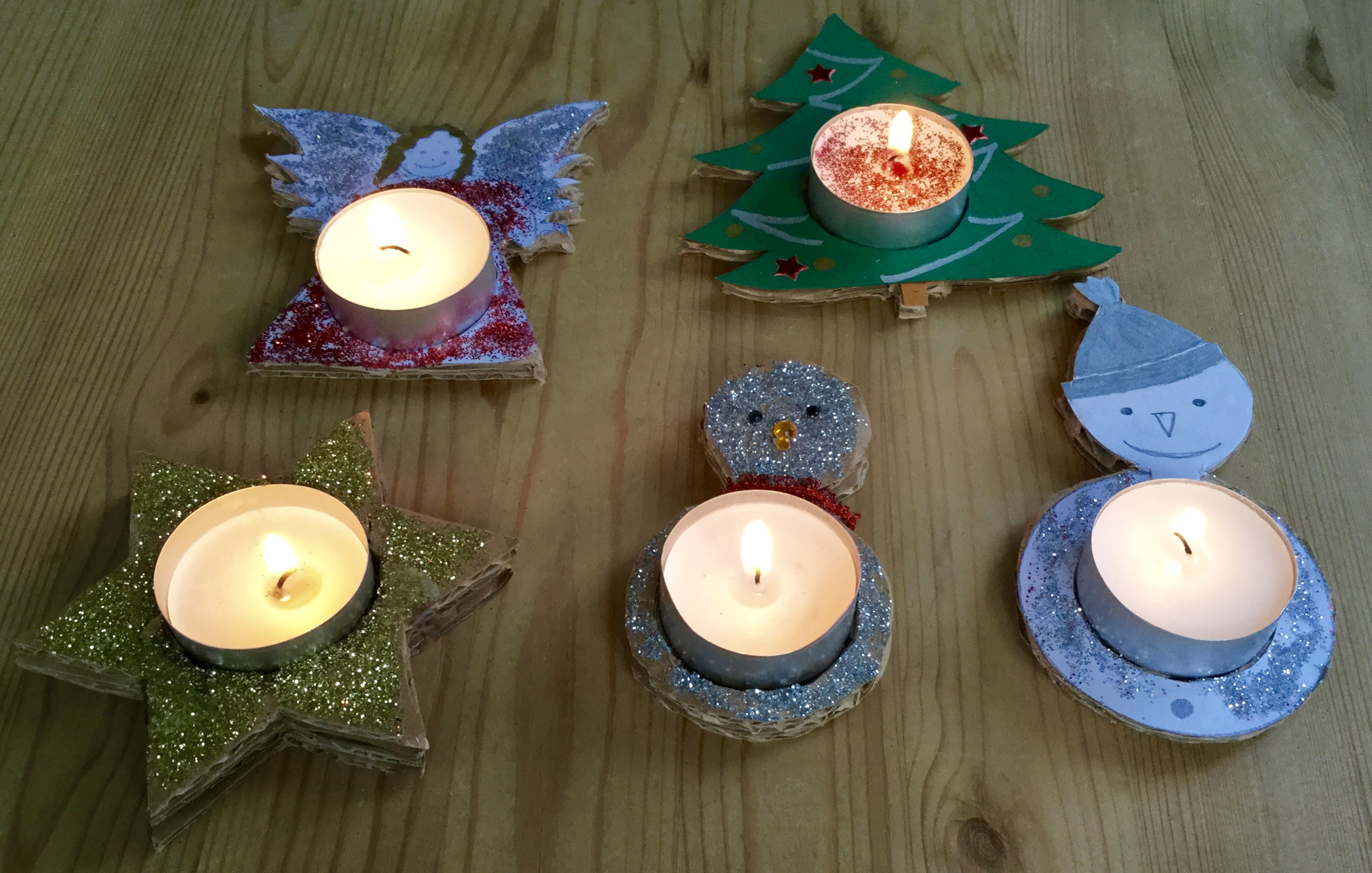 Diy christmas tea candle holders around the year tutorial were showing you how to make some diy christmas tea candle holders there is a video instruction below solutioingenieria Image collections
